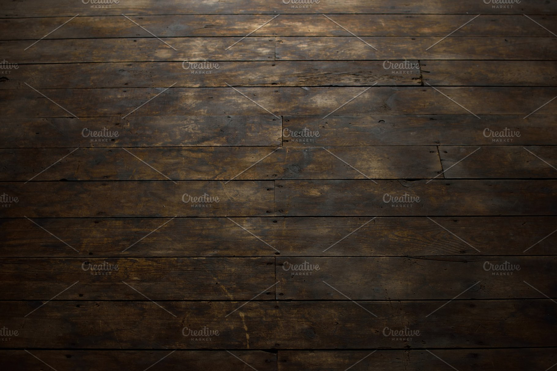 View Of Distressed Wood Flooring High Quality Abstract Stock