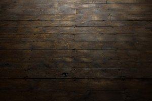 Worn Wood Plank Flooring