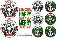 NEW YEAR / MERRY CHRISTMAS / SANTA