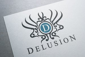 Delusion Crest Logo