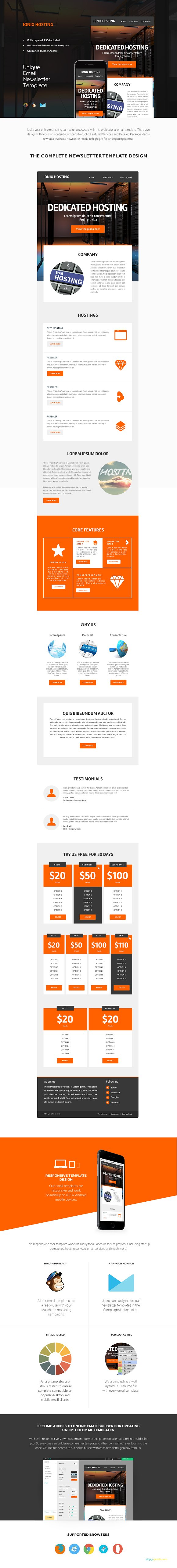 14 email newsletter templates bundle email templates creative market