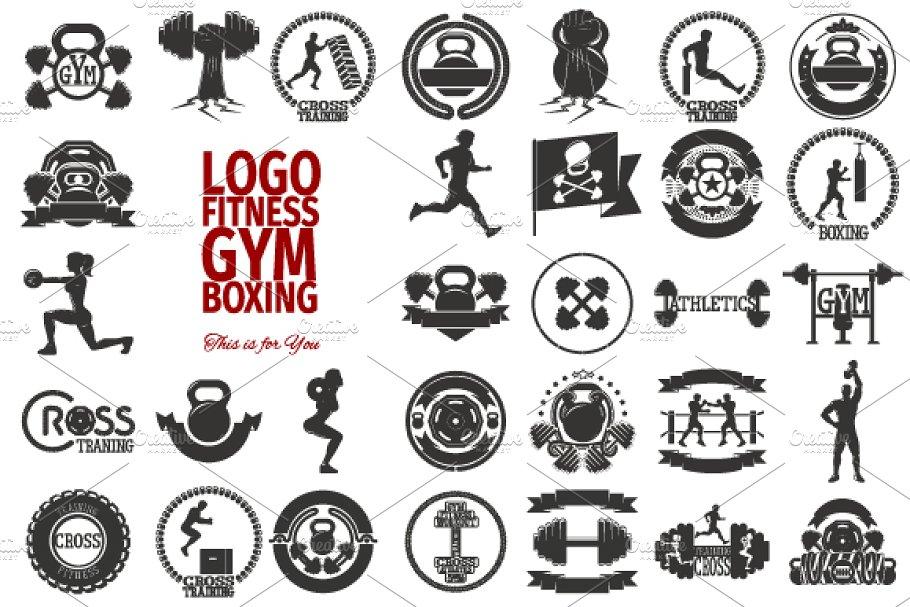 31 LOGO FITNESS / GYM / RUNNING