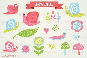 Spring Snails