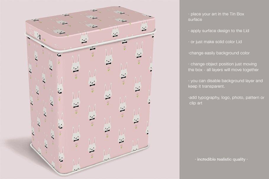 Tin Box Mockup