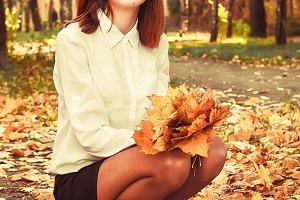 girl fall