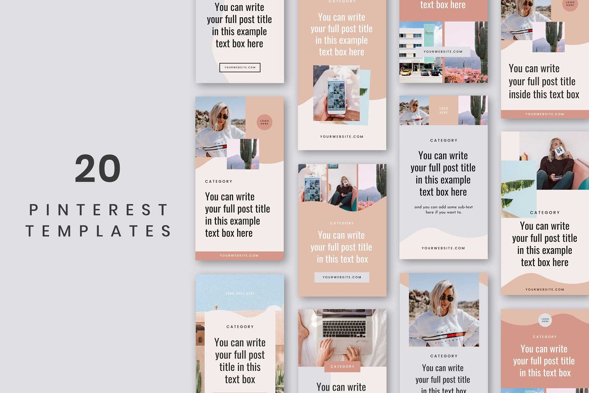 Ventura Pinterest Templates