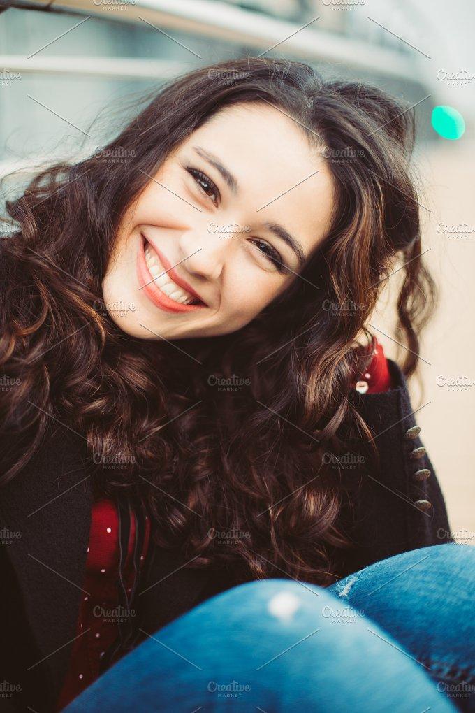 Woman smiling.jpg - People