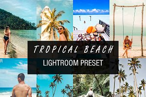 beach lightroom preset