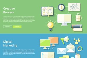 Creative Process and Digital Marketi