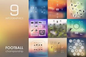 9 football infographics