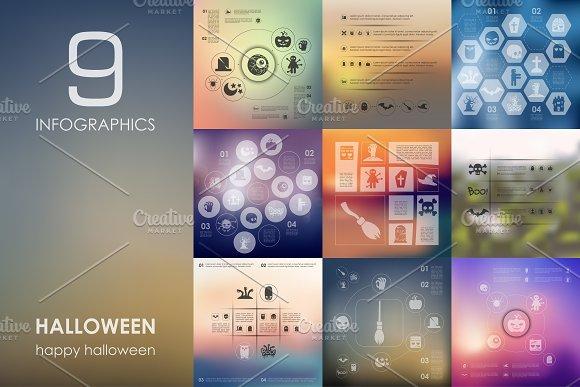 9 Halloween infographics
