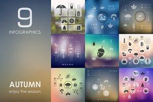 9 autumn infographics