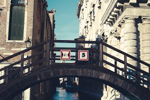 A small bridge in Venice
