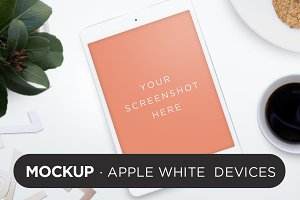 White Devices Mockup