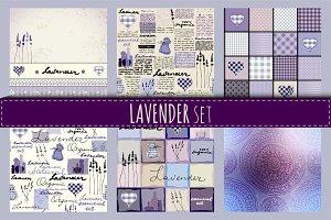 Lavender set.