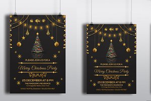 Christmas Invitation Flyer -V118