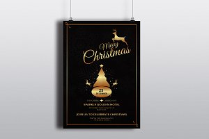 Christmas Invitation Template-V119