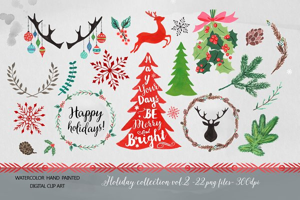 Christmas Clipart - design elements