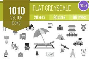 1010 Flat Greyscale (V3)