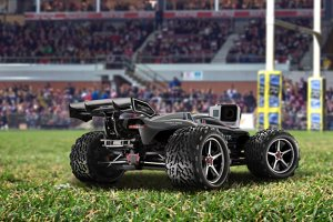 RC Car mockup on field