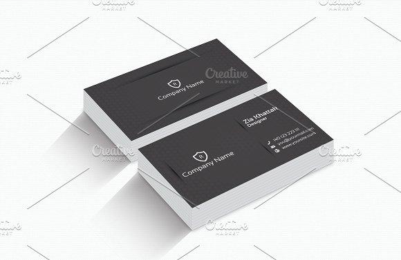 Classic business card business card templates creative market colourmoves
