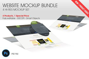 Website Mockup Bundle