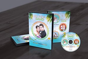 Wedding DVD Cover & CD Label & Faceb