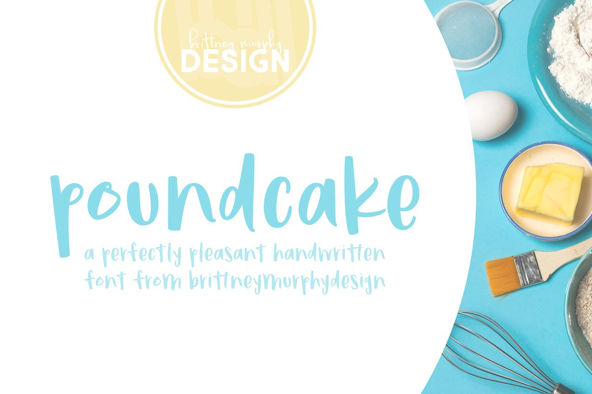 Poundcake in Display Fonts - product preview 8