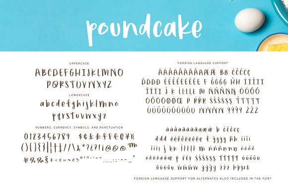 Poundcake in Display Fonts - product preview 2