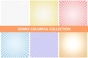 Sunny colorful collection.