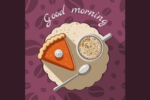 Good morning illustration