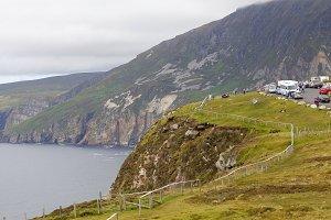 Slieve League cliffs in Ireland