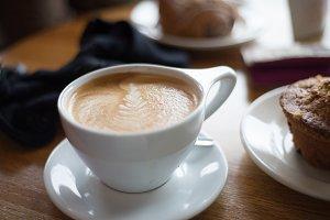 Detailed Latte Art