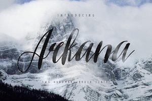 Arkana Script - Vintage Font