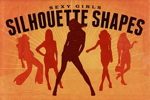 Silhouette Shapes - Sexy Girls