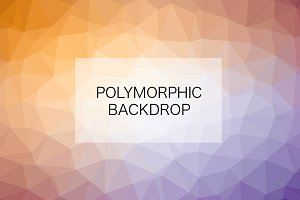10 Geometric Polymorphic Backdrops