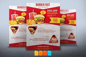 Flyer Burger Fast