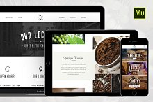 Restaurant Muse & PSD Template