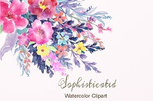 Watercolor Clipart Sophisticated