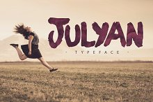 Julyan Typeface + Extras