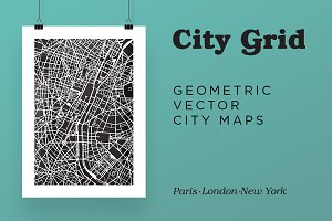City Grid Maps