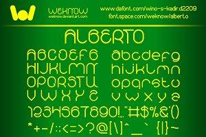 alberto font