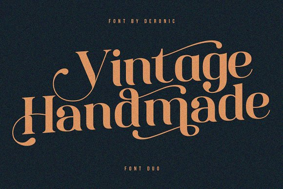 Deronic Font Duo in Display Fonts - product preview 4