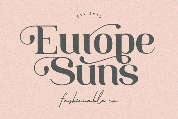 Deronic Font Duo in Display Fonts - product preview 10