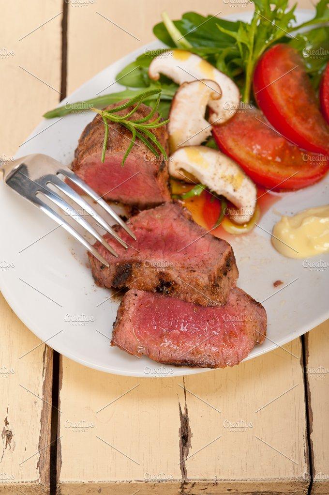 grilled beef filet mignon with vegetables 001.jpg - Food & Drink