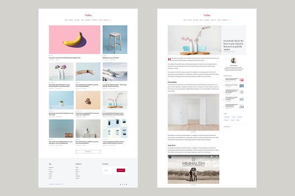 Nubia - Blog and Magazine Ghost 3.0