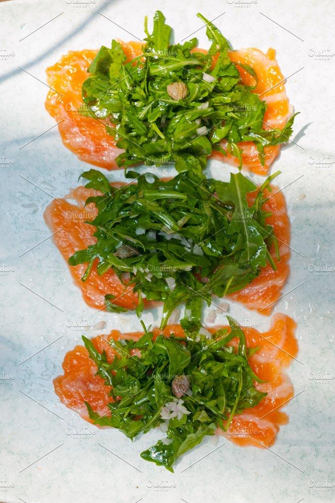 japanese salmon sushi carpaccio 004.jpg - Food & Drink
