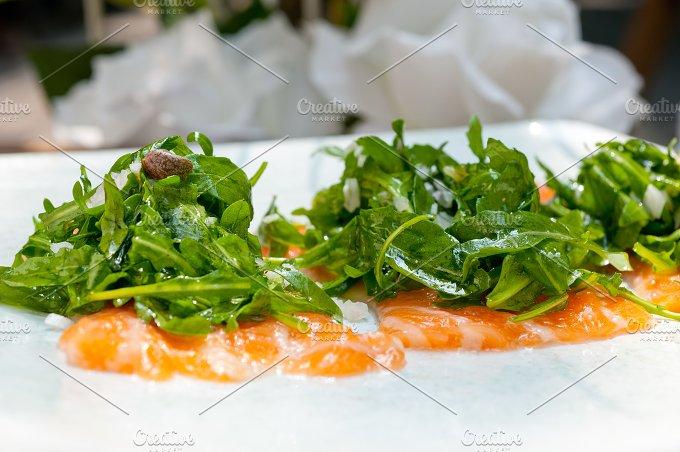 japanese salmon sushi carpaccio 005.jpg - Food & Drink