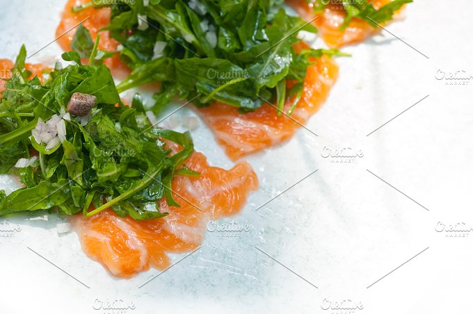 japanese salmon sushi carpaccio 008.jpg - Food & Drink