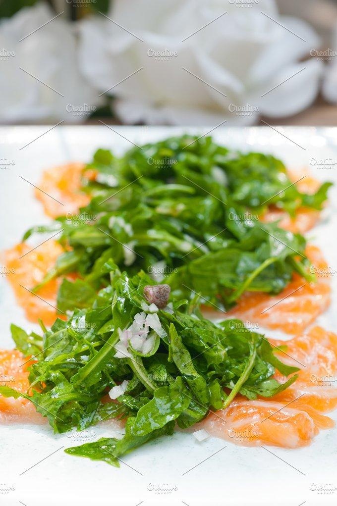 japanese salmon sushi carpaccio 015.jpg - Food & Drink